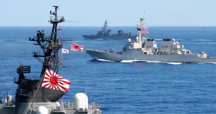日本自卫队去年竟执行过25次保护美军舰机任务