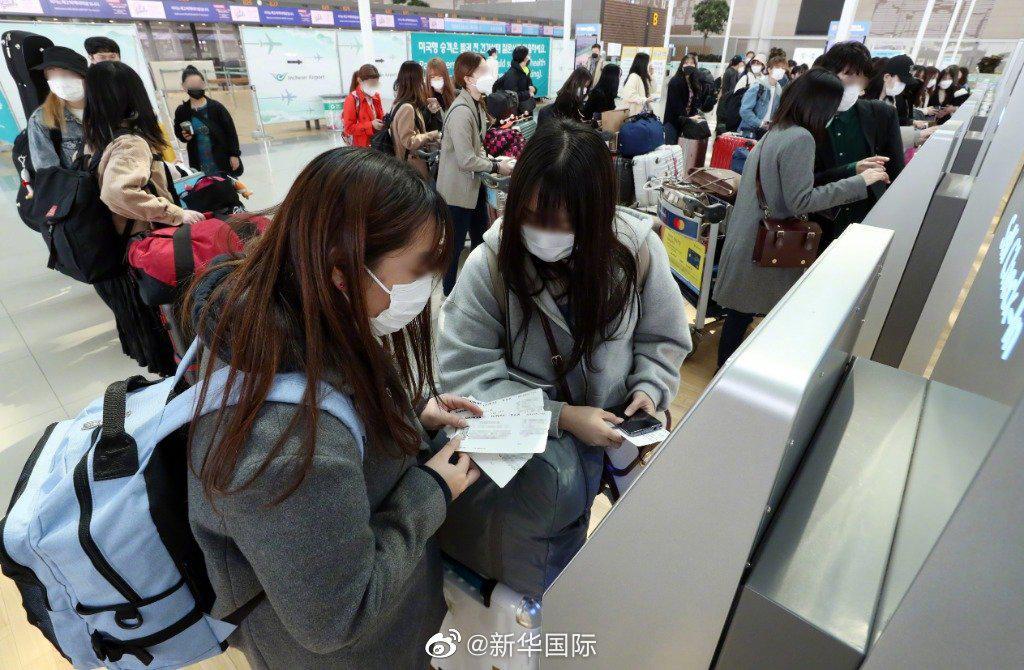 韩国警方调查仁川机场恐袭威胁