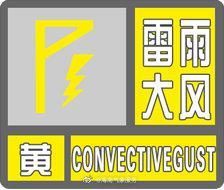 海南省气象台2021年03月01日 19时55分发布海上雷雨大风黄色预警信号