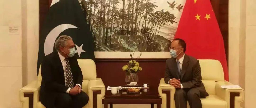 驻巴基斯坦大使农融会见巴国家职业技术培训委员会主席哈桑