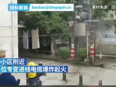 围观大爷热心指导消防员灭火:没嘘准