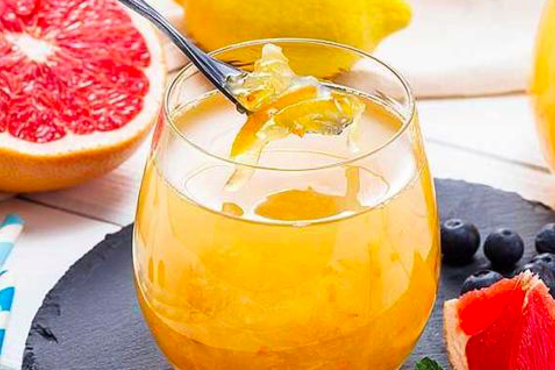 简单易做的蜂蜜柚子茶,味道还不错哦