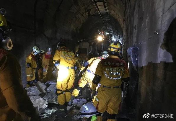 """台媒称""""太鲁阁号""""成""""炼狱"""":51位遇难者中仅15人遗体较完整图片"""