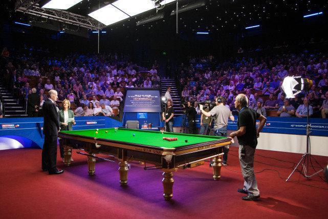 斯诺克世锦赛观众到场前后两次检测 决赛计划满座