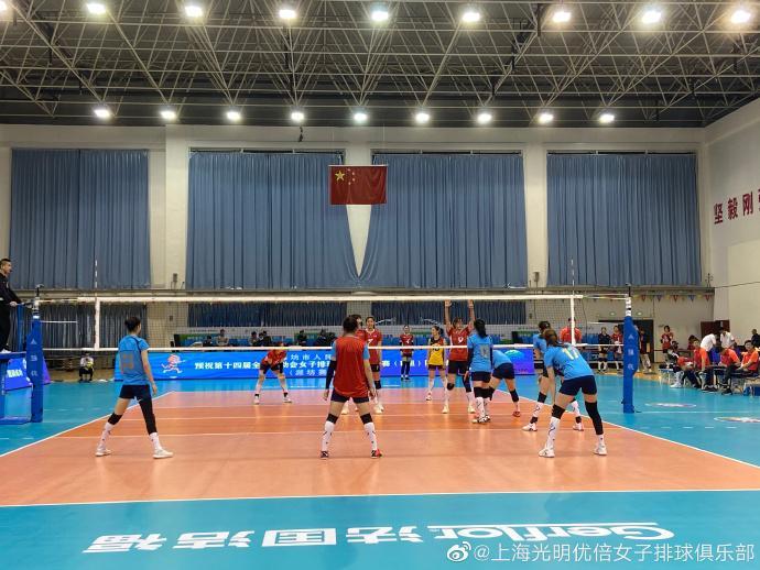 全运资格赛山东3-0上海 夺第五胜名列B组第二晋级