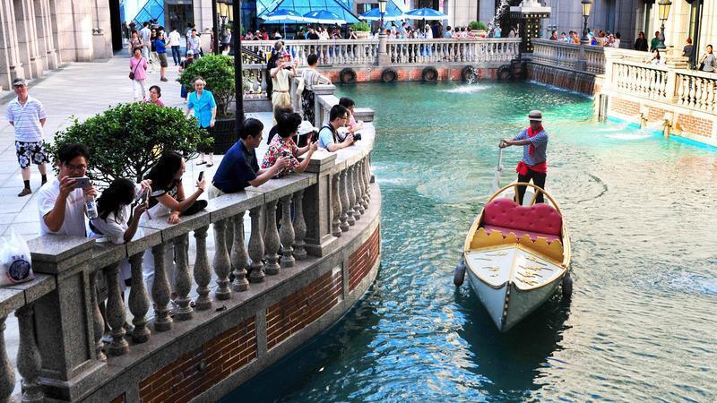 """""""水城""""威尼斯也会闹旱灾?"""