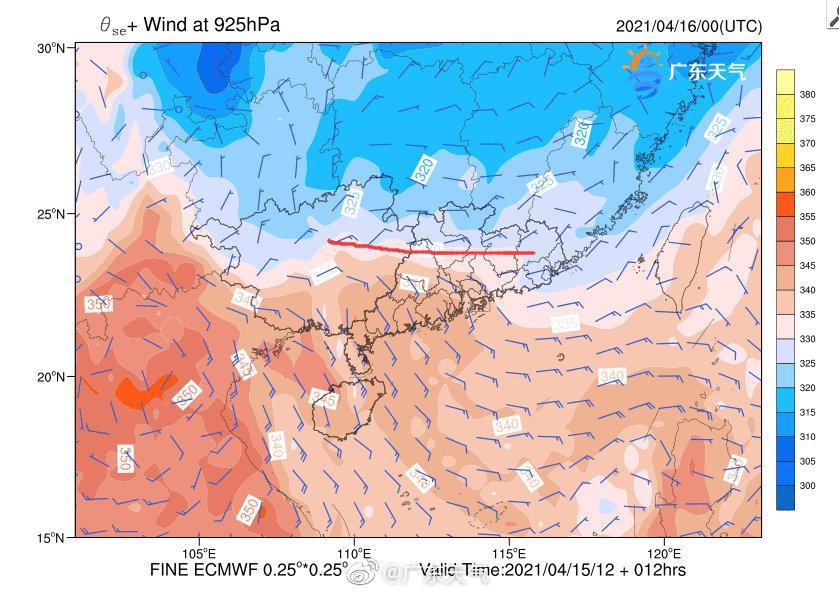 南风不肯退让,冷空气强度又太弱,导致切变线南移的路程非常艰难