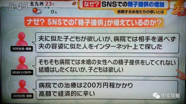 疫情影响不孕症治疗 日本网上捐精盛行