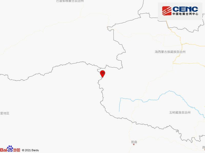 青海玉树州治多县发生4.0级地震 震源深度8千米图片