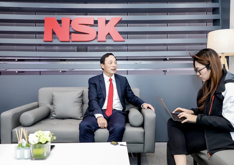对话NSK郁国平:不断推动核心技术创新,为下一个百年添砖加瓦