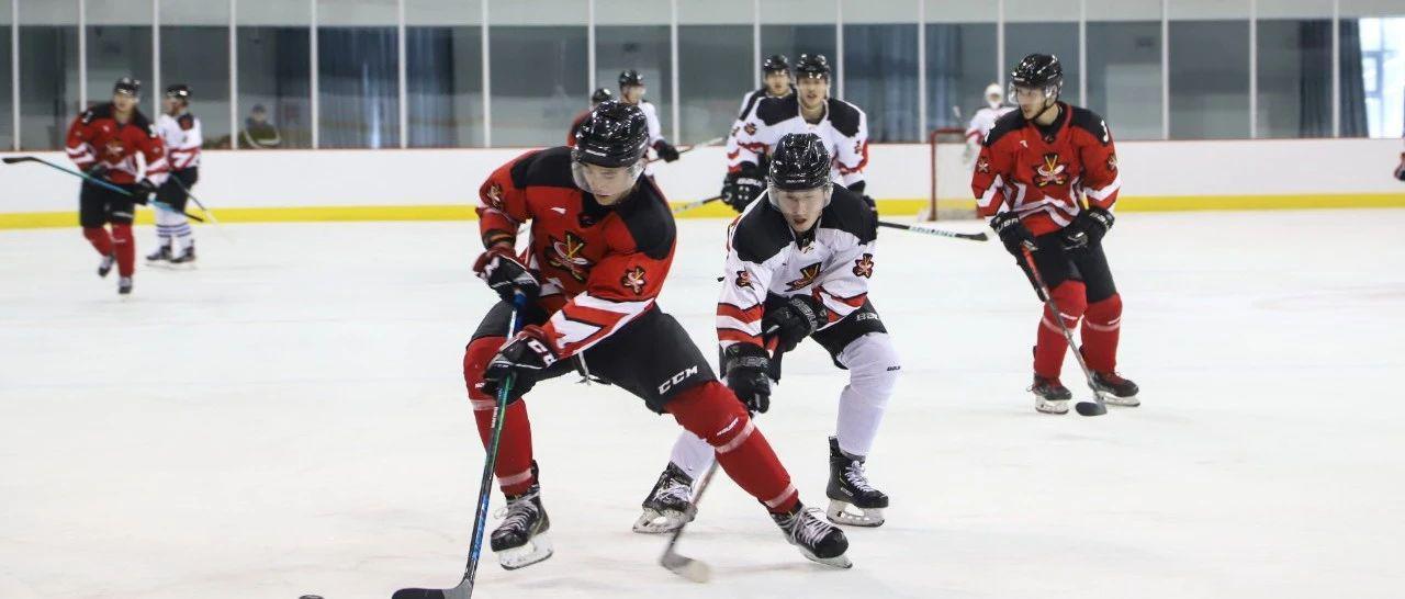 冬运中心检查男子冰球国家集训队训练备战工作
