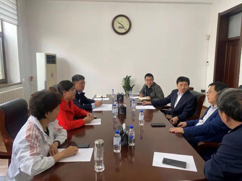 内蒙古自治区兴安盟扎赉特旗来吉林农业大学洽谈合作