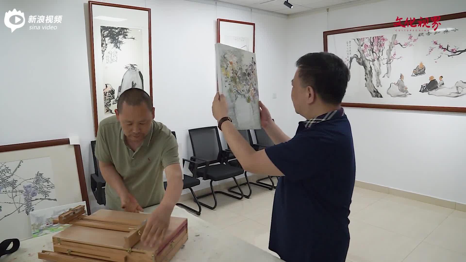 仙露明珠,高风亮节——著名画家刘明亮走进文化视界