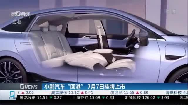 """小鹏汽车""""回港""""7月7日挂牌上市"""