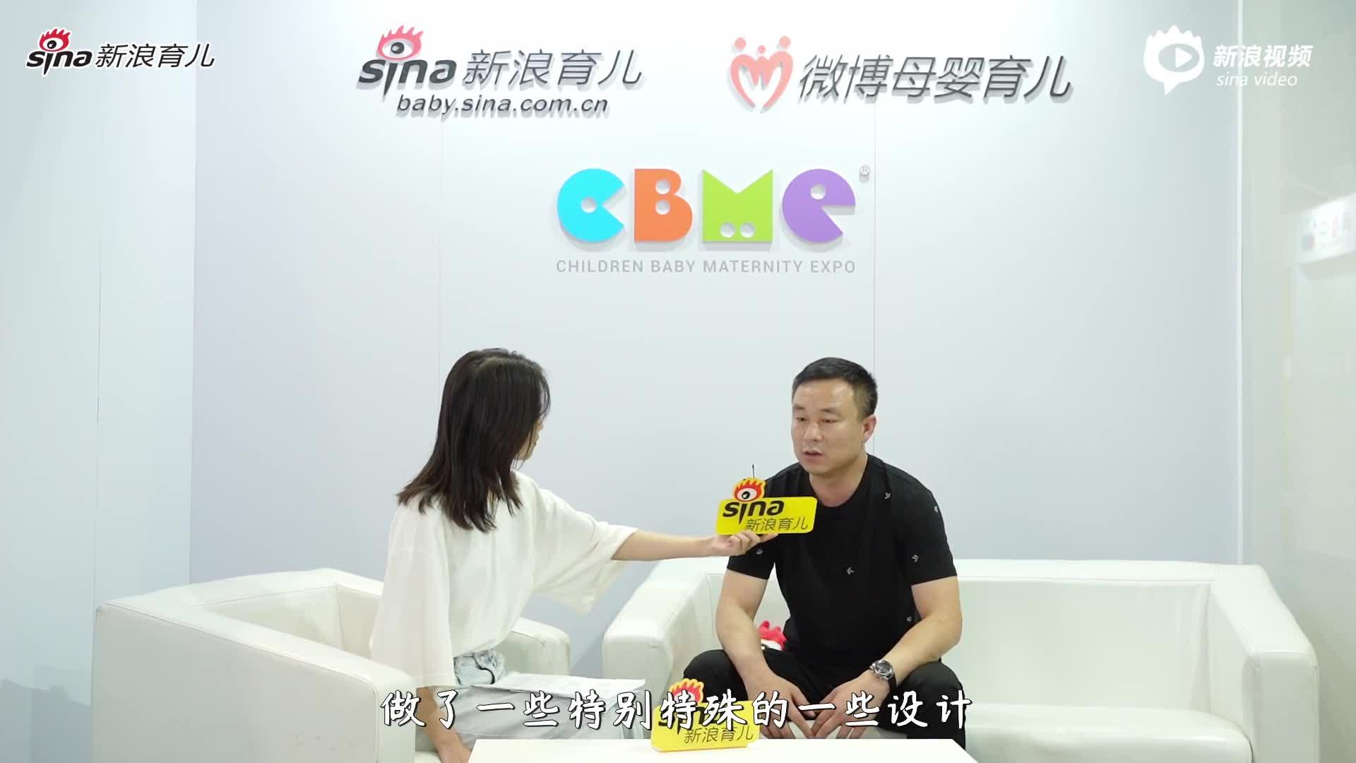 愛舒樂品牌副總經理張志濤
