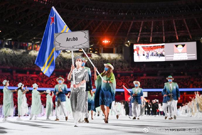 奥运开幕式国名标牌被设计成漫画对话框 还很环保
