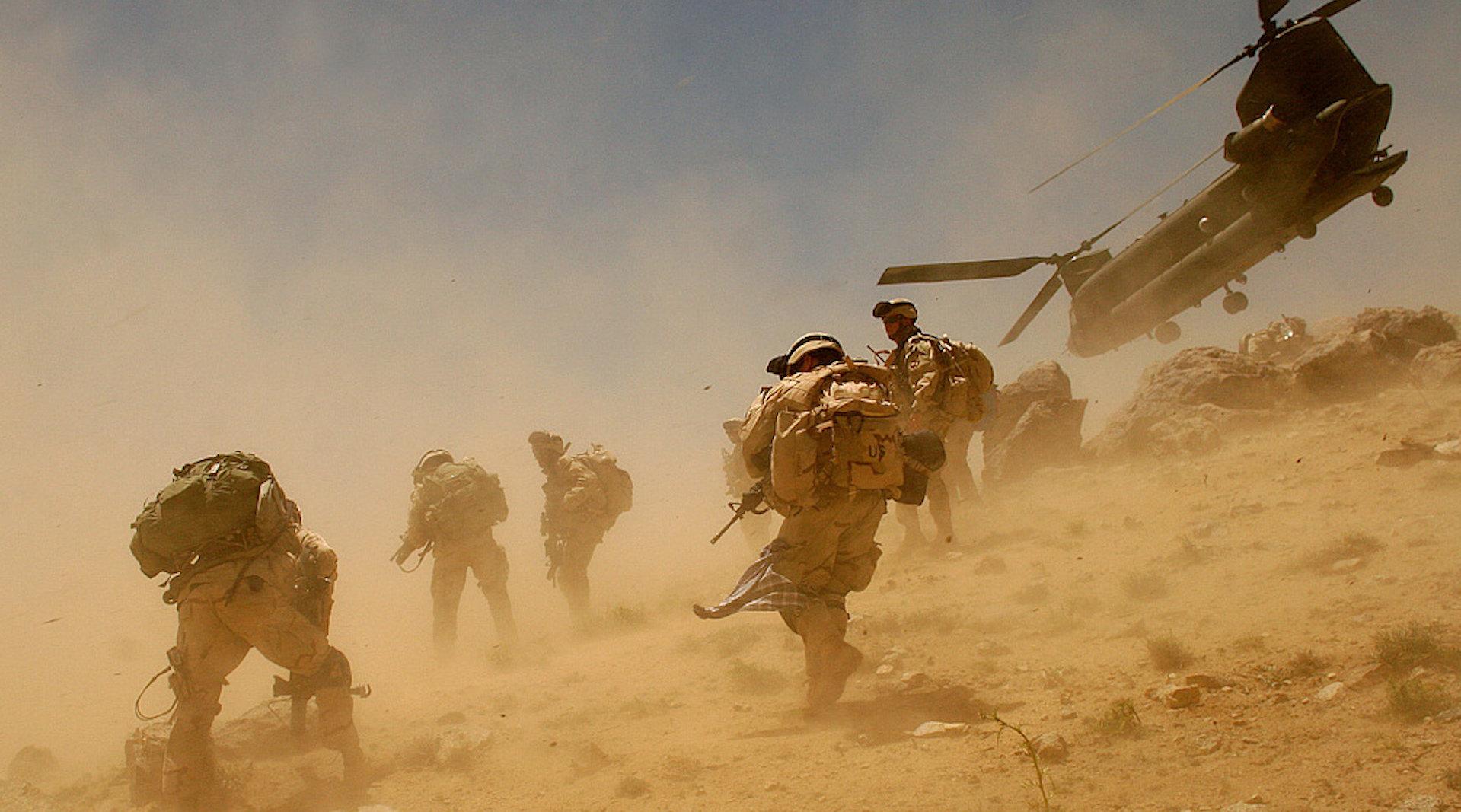 3分钟回顾美20年阿富汗战争