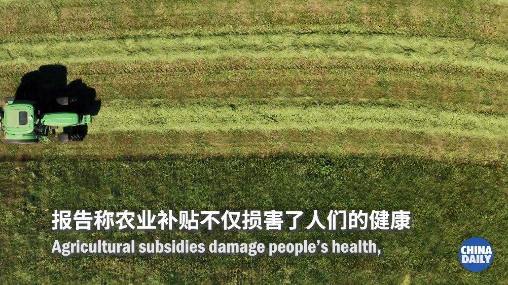 全球近九成农业补贴有害