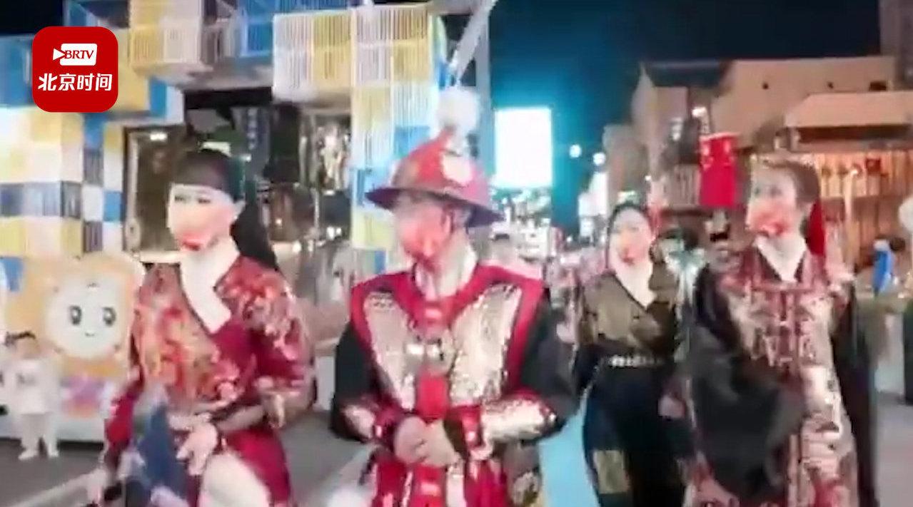 日式风情街穿明代服饰遭劝离