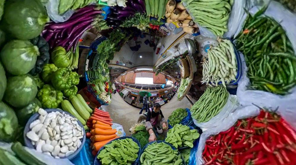 云南菜场里的生物多样性