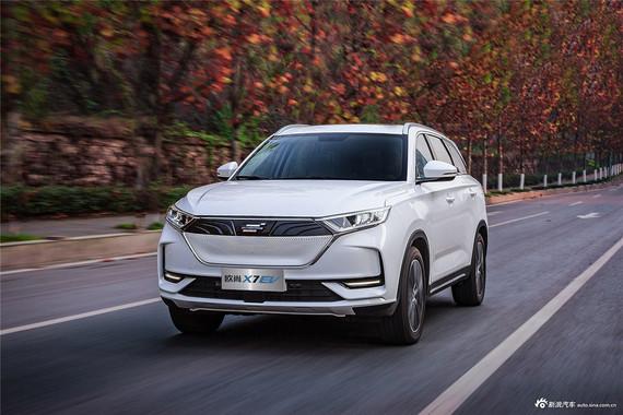 本站今日份推荐:长安欧尚X7 EV最高直降1.69万