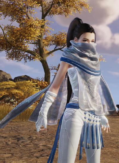 《剑网3》背景设定原画