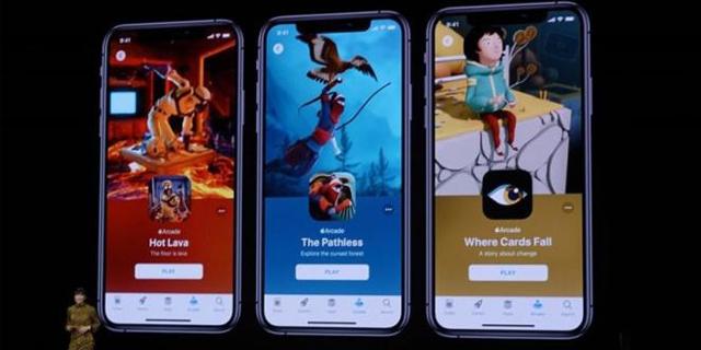 """苹果游戏订阅服务""""Apple Arcade""""公布"""