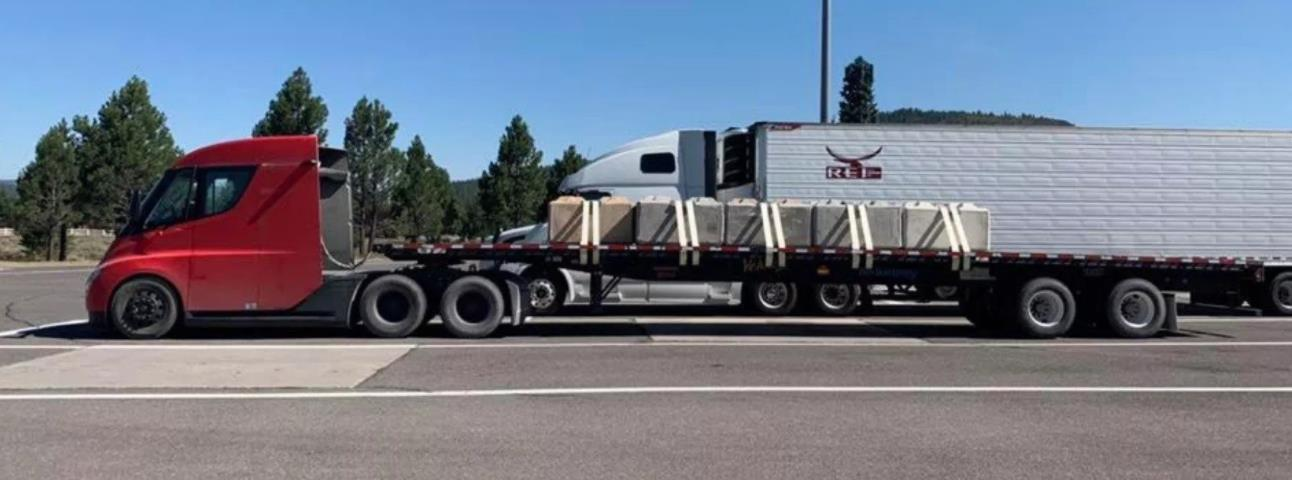 特斯拉电动半挂卡车满载里程测试达标