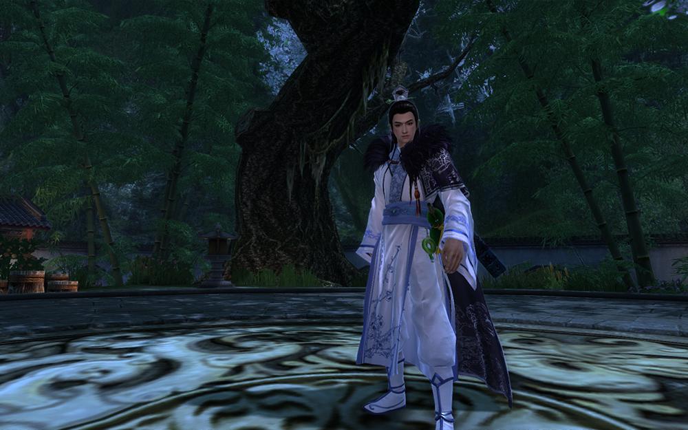 国士华服·青花(包括头)+破阵子·出塞+墨子剑鞘