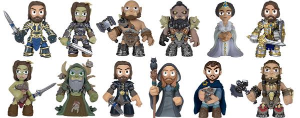 《魔兽》电影系列潮流玩偶将在4月份发售