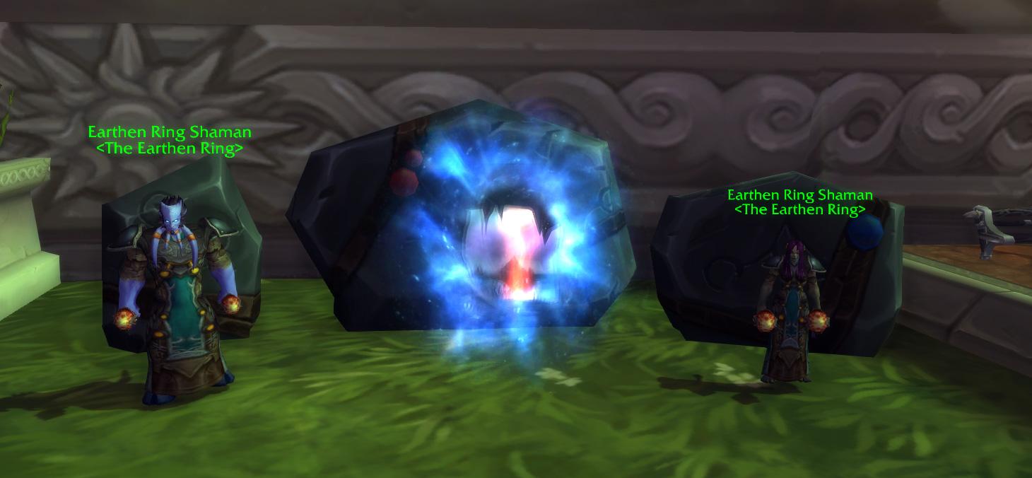 魔兽7.0达拉然新增宠物对战场与职业大厅传送门