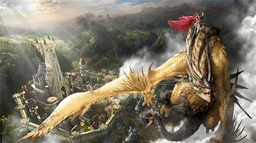 《上古世纪》国王坐骑炽焰飞龙