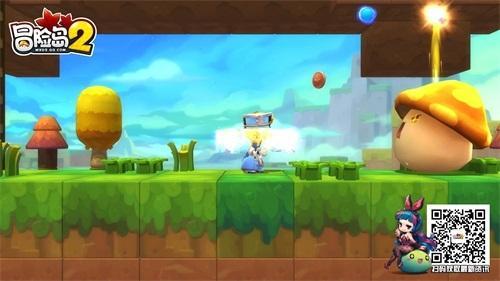 《冒险岛2》花蘑菇王