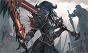 暴雪魔兽官方特邀国人画师:德莱尼战士绘画视频
