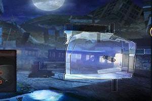 CF火线挑战模式巨人城废墟如何蹲着捡水晶箱