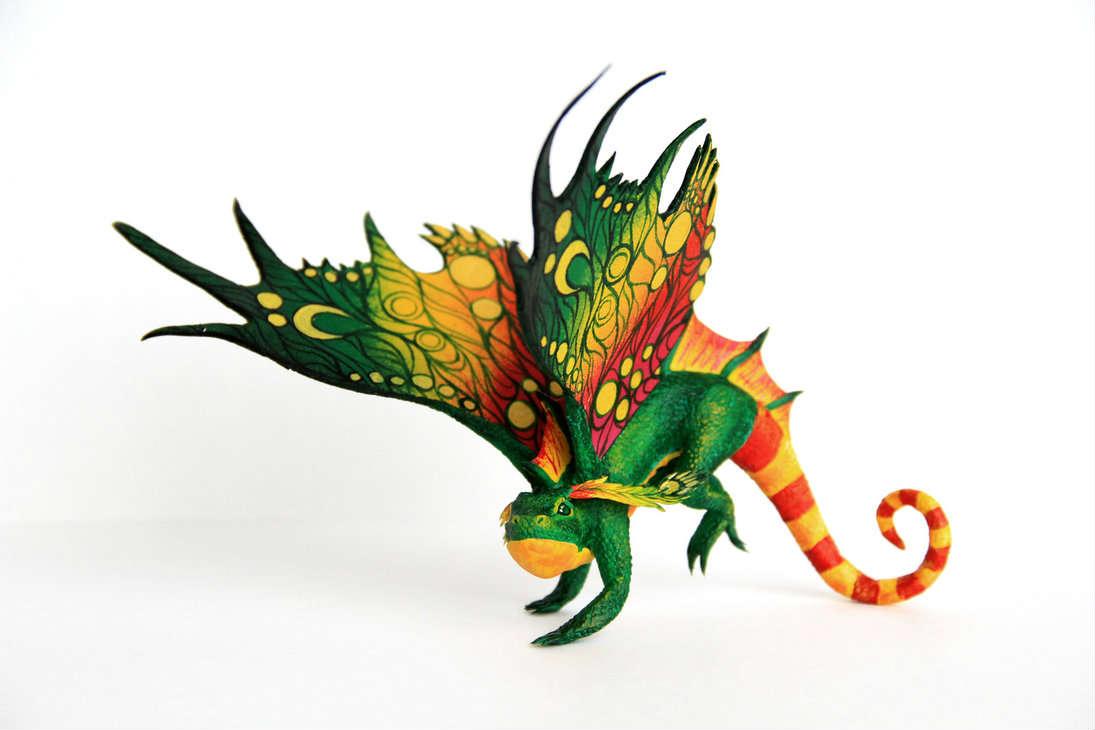 国外创意工坊玩家手工:魔兽坐骑生物小模型图集