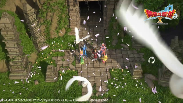 勇者斗恶龙X游戏截图