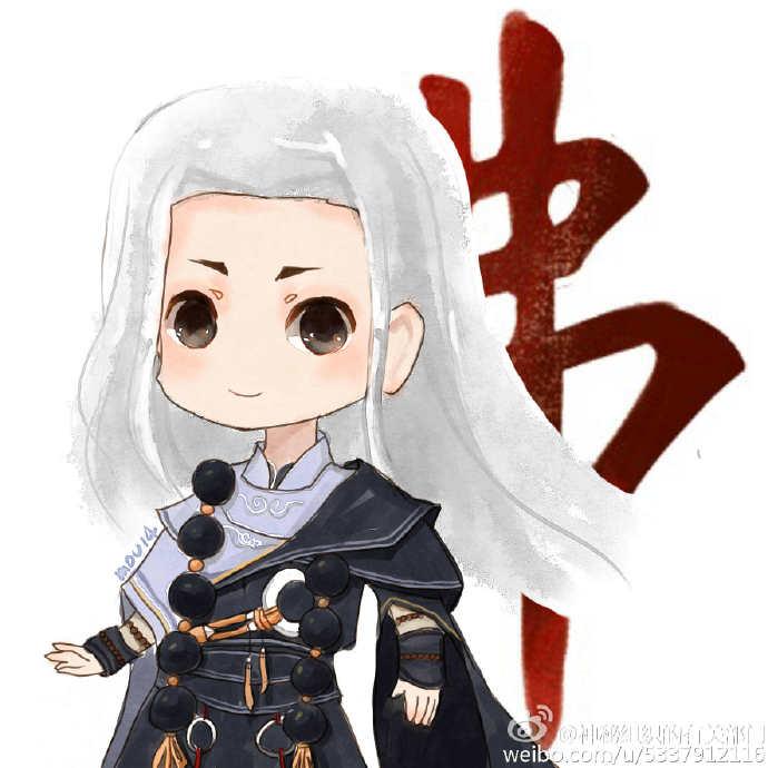 剑网3玩家手绘小可爱小头像
