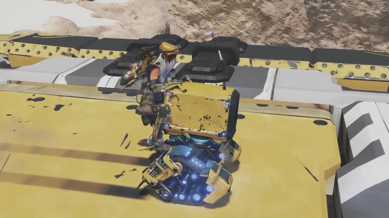 【新浪电玩】《核心重铸》第五只机器人