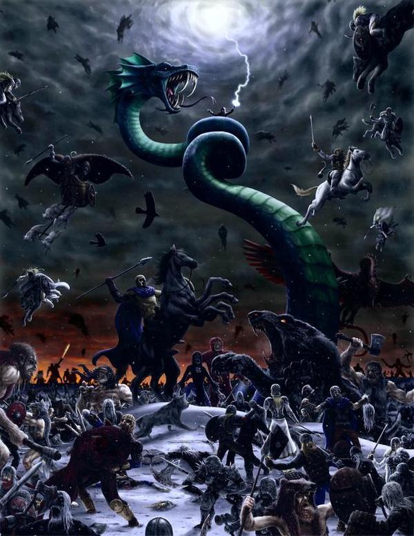 麦德三世讲魔兽:世间灾害的尘世巨蟒 耶斯尔达
