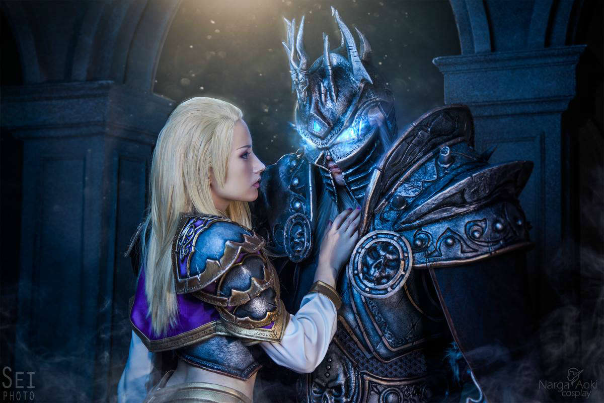 魔兽COS吉安娜与阿尔萨斯之恋