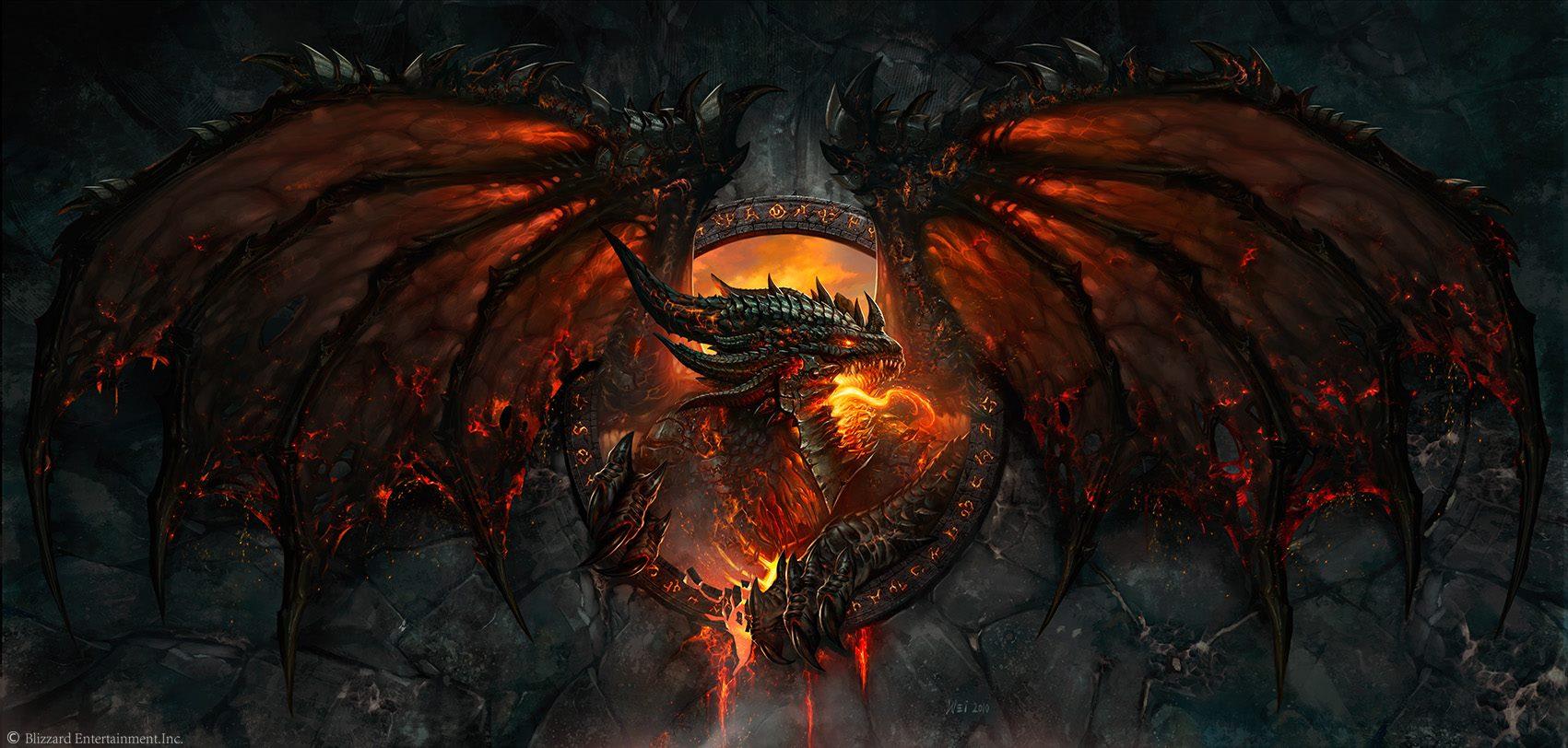 《魔兽世界:大灾变》盒装封面