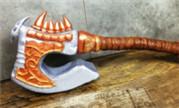魔兽玩家原创手工作品:史诗级大翻糖血吼蛋糕