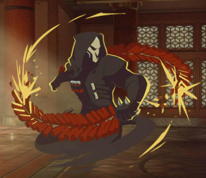 喷漆-死神-火焰绽放
