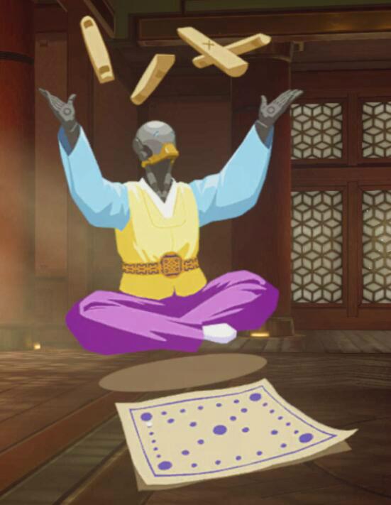 喷漆-禅雅塔-柶戏