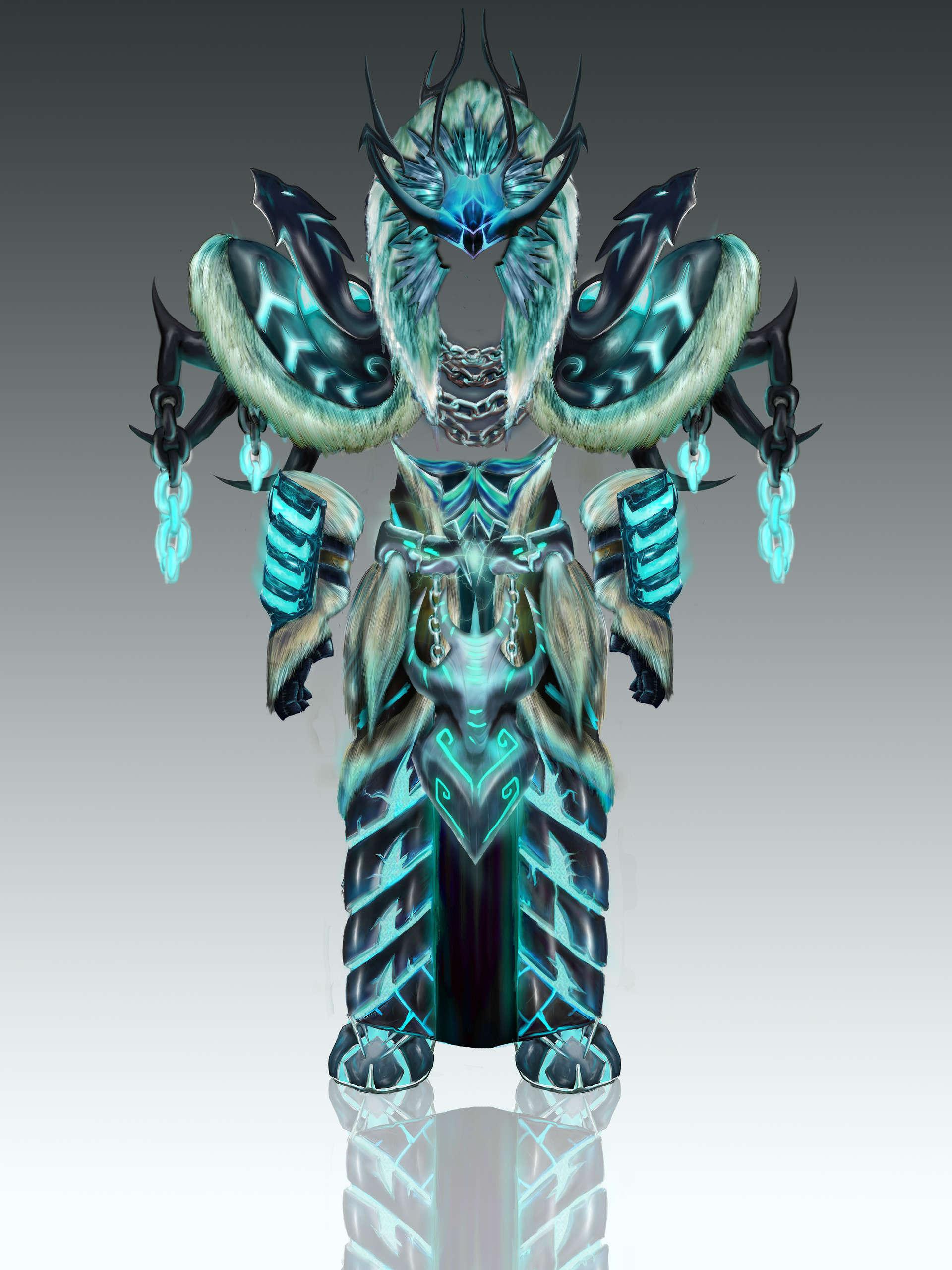 同人逼死官方系列:国外设计师创作魔兽职业套装