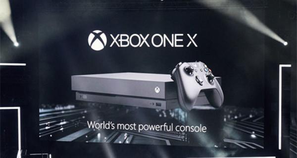 微软2017E3发布会汇总:推出强大主机Xbox One X