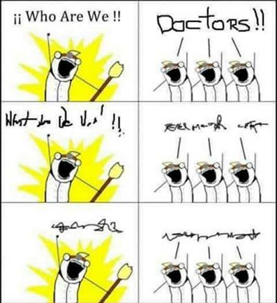 医师写的字都是加密的,药剂师负责解码。