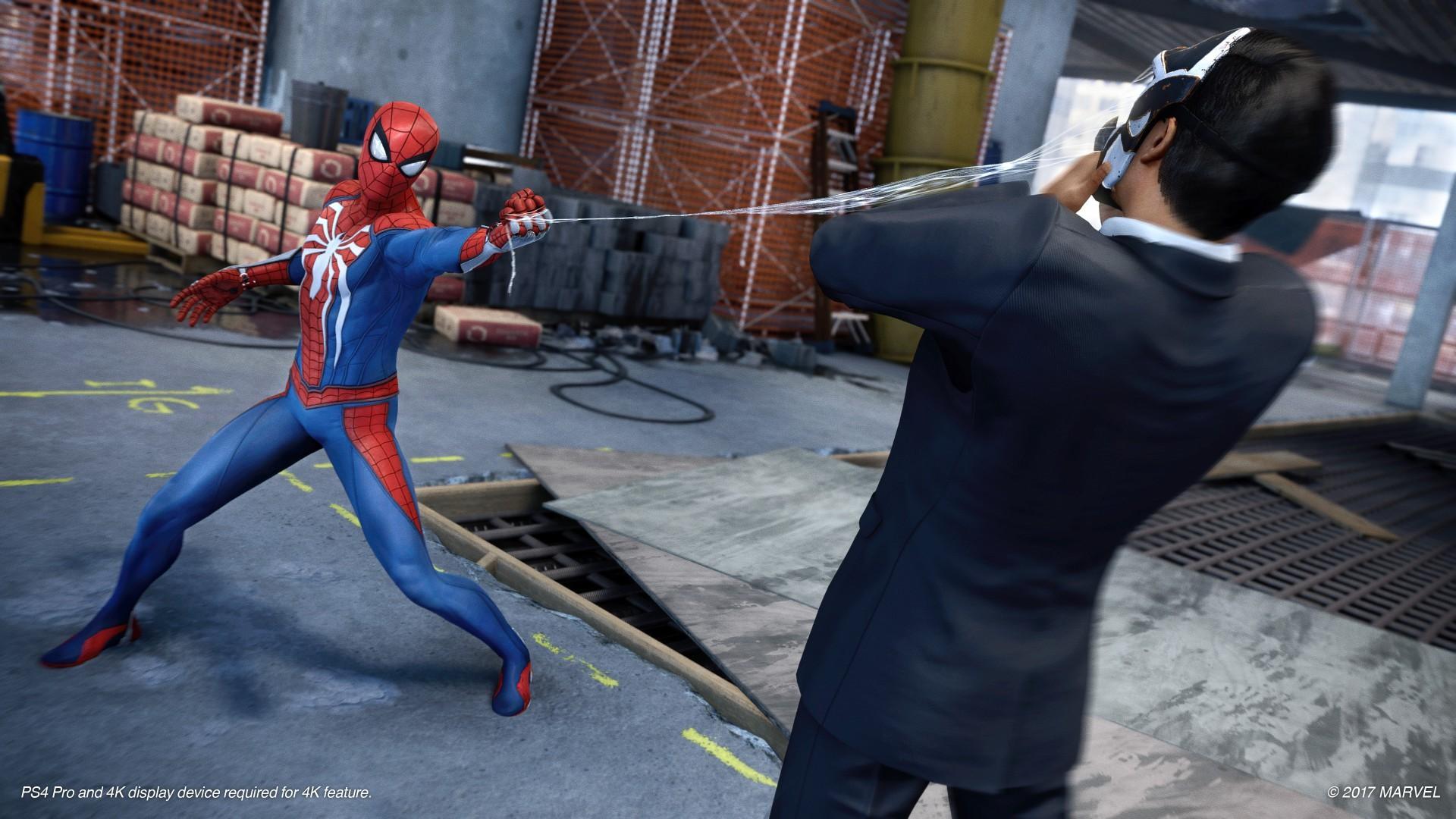 官方否认PS4《蜘蛛侠》缩水:降质不存在的