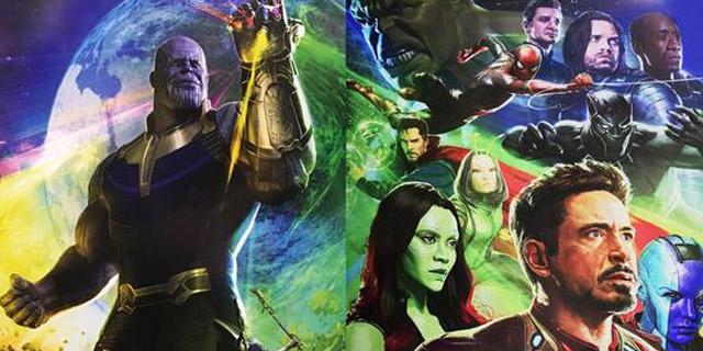 《复仇者联盟3》完整海报曝光